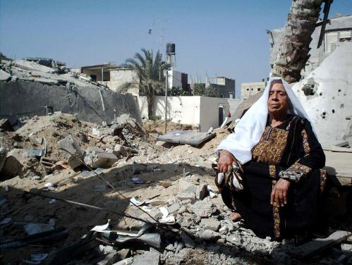 A Gazan Mother, They destroyed everything but not her Pride