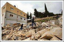 What remains after Israel demolished the Jabari's family home in At-Tur Jerusalem - Dec 11, 2012 (Click to see the full album)