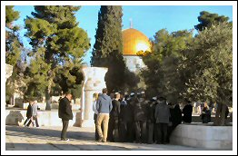 60 Israeli Settlers storm Al-Aqsa Compound under police and army protection - Dec 10, 2012 (Click to see the full album)