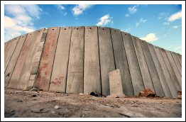 Israel extends Apartheid Wall & builds new checkpoint in Shufa'at RC  Dec 20, 2012 (Click to see the Album & a comparision to the Berlin Wall)