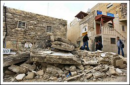 Home Demolition in at-Tur (Jerusalem) Dec 4, 2012. (Click on the image to see the full album)