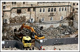 Demolitions going on at Al-Aqsa compound in occupied Jerusalem (Click to see the report & full album)