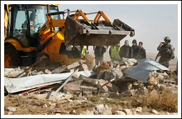 Israel demolishes house, barn and structures in Hebron - Jan 14, 2013 (Click to see the full album)