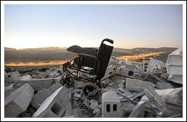 What Remains after an Israeli Home Demolition in Jerusalem - Jan 15, 2013 (Click to see the full album & Infograph)