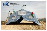 Palestinians establish Bab Al-Karamah (Gate of Dignity) Protest Village - Jan 18, 2013 (Click to see the full report and album)