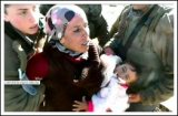 SHOCKING |  Israel arrests mother and her 18-month baby in South Hebron -  Jan 19, 2013 (Click to see the full album and video)