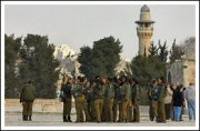 Over 100 female Israeli soldiers march through Aqsa compound - Jan 29, 2013 (Click to see the full report and album)