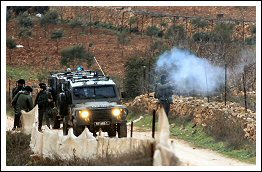 Clashes with Israeli soldiers after settler attack villagers – Nablus district Jan 5 2013  (Click to see the full album)