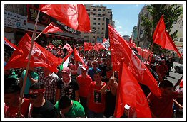 Hundreds of PFLP (@PFLP_ps) supporters protest against peace talks - Sept 7, 2013 (Click to see the full album)