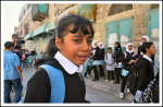 Children's Protest against Checkpoints around school, meet Israeli violence - Oct 11, 2011