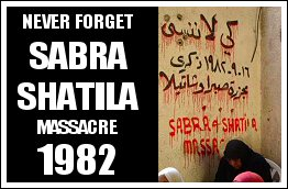 Sabra and Shatila Massacre - 1982 (Click to see the full album)