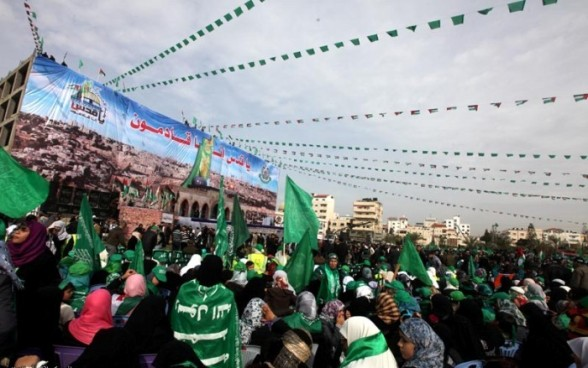 Hamas 24 Year Anniversary, Celebrations in Gaza - Dec 14, 2011 - Photo via Paltoday.com