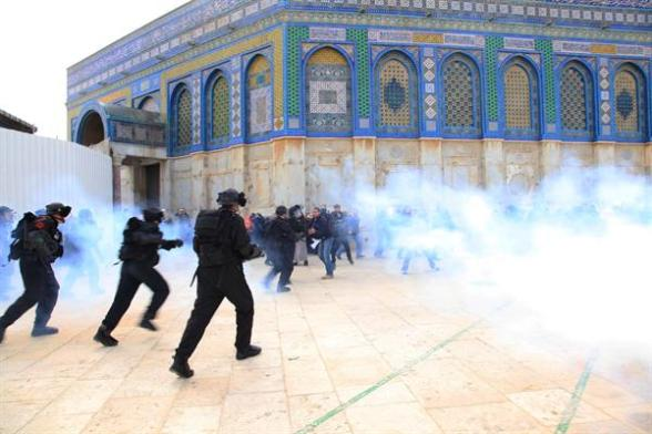 Clashes Al-Aqsa - WAFA Feb 24 2012