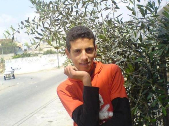This is the martyr Kamal Abu-Nserah from the last attack and he does not look like a terrorist - Photo by @WhalaaGH