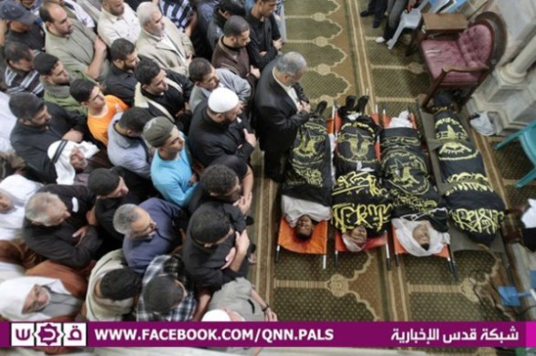 Funerals in Gaza March 10, 2012