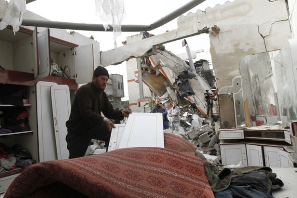 GazaUnderAttack – March 12, 2012 – Fourth Day of Israeli