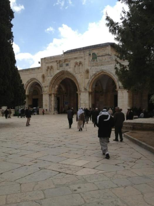 Inside al-Aqsa - Photo by @BDS4Justice