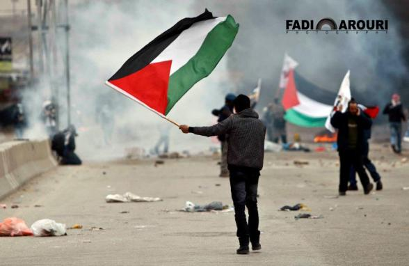 Qalandiya Today/ More Than 100 Protesters injured during clashes followed a march marking Land Day to commemorate the event when six Arabs died in 1976 while protesting against Israel's seizure of land./ Fadi Arouri — at qalandia.