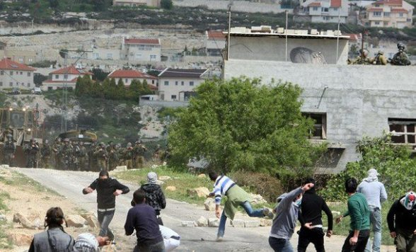 Land Day March Kufr Qaddum - March 30, 2012