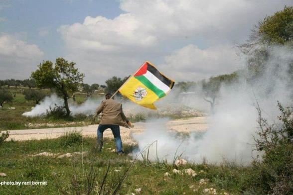 Land Day March in Bil'in - March 30, 2012