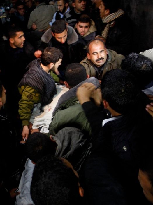 in Gaza City, Friday, March 9, 2012.  (AP photo/Hatem Moussa)