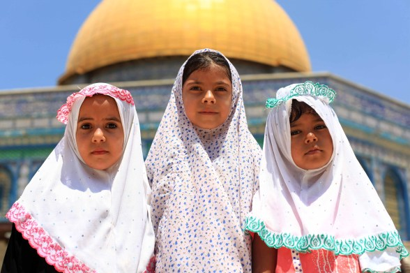 Second friday of Ramadan in Al-Quds - July 27, 2012 Photo by WAFA