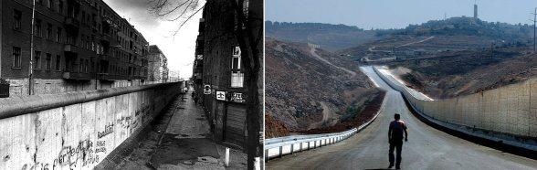 Berlin vs Israeli Apartheid wall in Palestine | Segregating the streets