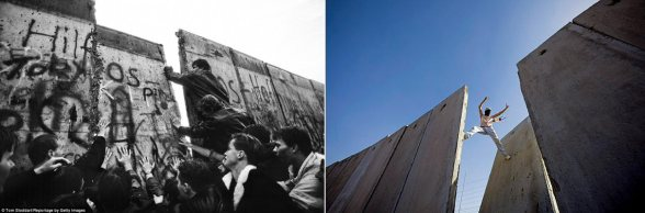 Berlin vs Israeli Apartheid wall in Palestine | But one day.. this wall WILL FALL
