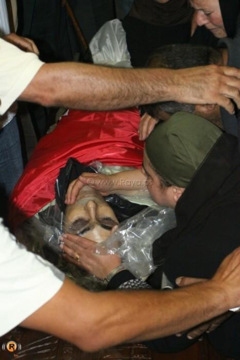 The funeral of Akram Badee'a Bader - July 31, 2012 (Photo by Raya.ps)