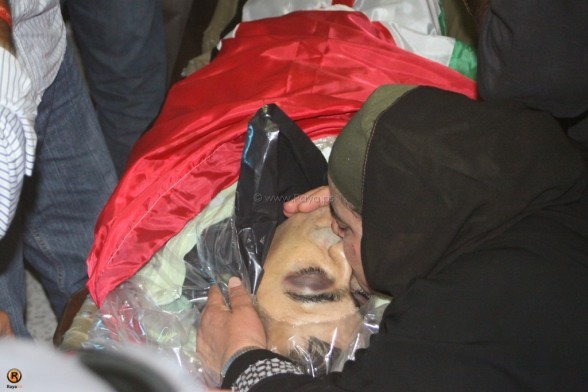 The funeral of Akram Badee'a Bader - July 31, 2012 (Photo by Raya.ps)