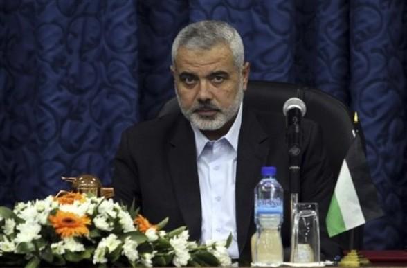Prime Minister Ismail Haniyeh  (AP Photo/Hatem Moussa)