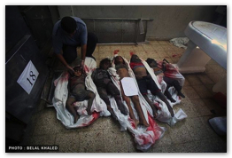 Gaza Under Attack - July 26, 2014 (Click to go to the live photo blog)