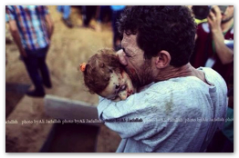 Gaza Under Attack - 24 July 2014 - The Barbaric Israeli massacre continues (Click to go to the live blog)