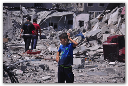 Gaza Under Attack - Aug 7, 2014 (Click to go to the Live Photo Blog)