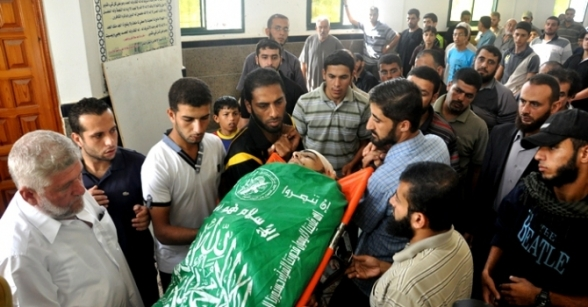 Funerals in Gaza - Oct 24, 2012 Photo by Paltoday.ps