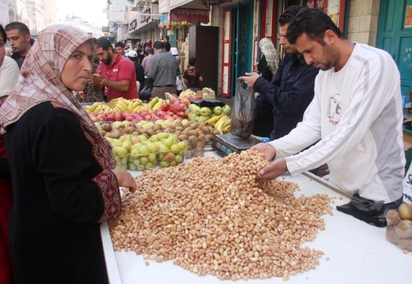 Oct 25, 2012   - Bethlehem markets ahead of Eid al-Adha Photo: Ahmed Mazhar/WAFA