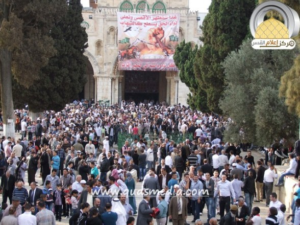 Oct 26, 2012 Photos Eid Al-Adha prayers at the Al-Aqsa Mosque Photos by QudsMedia