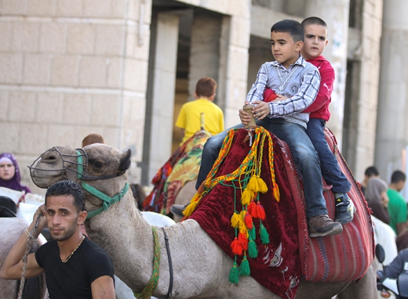 Holiday atmosphere on 3rd day of Eid Al Adha – Ramallah Oct 28, 2012  Photo by Eyad Jadallah