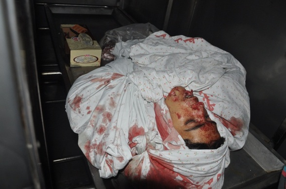 Shaheed Ahmed al Derdsawi, 18 years old | Nov 10, 2012 | Photo via Paltoday.,ps