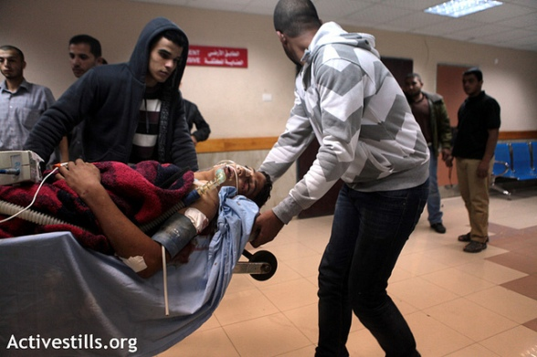 Gaza under military attack, 10.11.2012