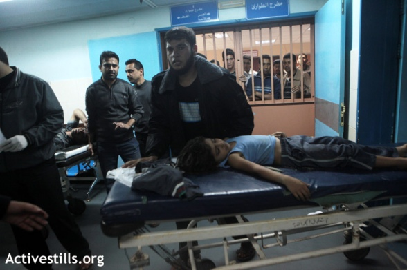 Gaza under military attack, Shifa hospital, 14.11.2012
