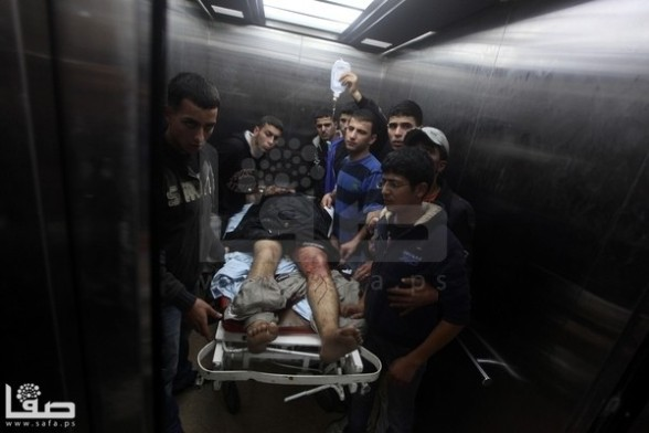 Gaza Under Attack, Nov 10, 2012 - Photo by Safa.ps