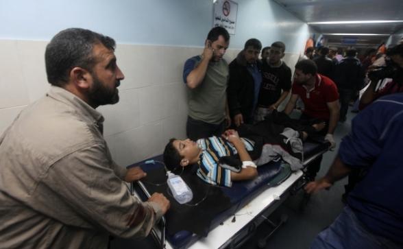 العدوان الإسرائيلي أسفر عن استشهاد ثلاثة مواطنين وإصابة العشرات  Photo by Safa.ps