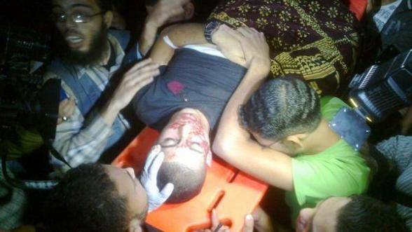 #GazaUnderAttack | Name of one shaheed: Ahmed al Derdsawi, 18 years old from #Gaza
