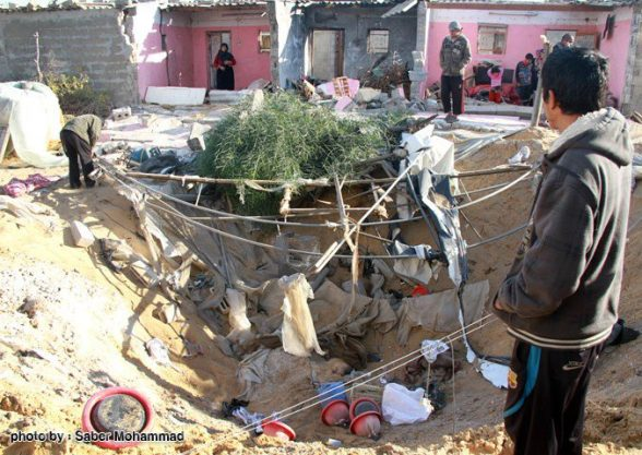 Israeli airstrikes hit the southern city of Rafah on Sunday at dawn, Nov. 11, 2012.