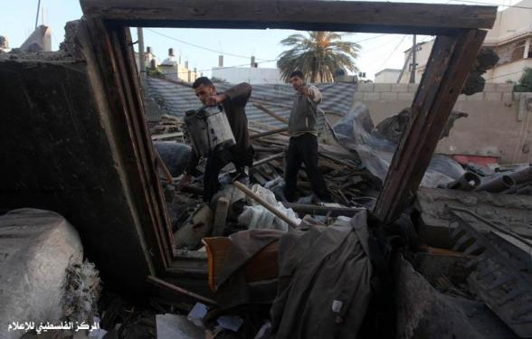 Gaza Under Attack Nov 11, 2012 Photo by Palestinian Media Centre