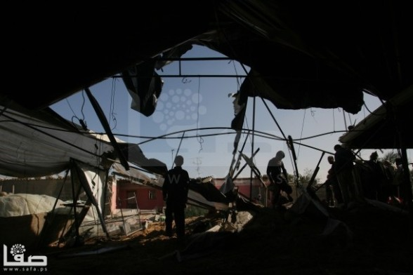 Gaza Under Attack Nov 11 2012 | Photo by Safa.ps
