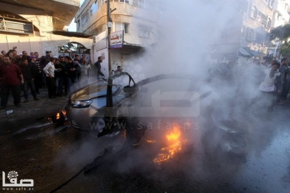 Nov 14 2012 Gaza Under israel Attack Photo by Safa