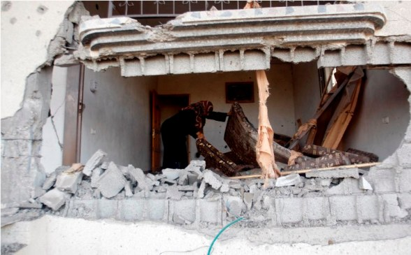 Nov 16, 2012  Aftermath of Israeli airstrikes – Beit Hanoun, Gaza | Photo by WAFA