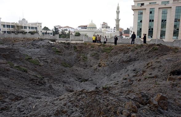 Gaza Under Attack - Nov 17, 2012 Photo by WAFA.ps